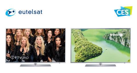Eutelsat enrichit son offre Ultra HD avec deux nouvelles chaînes rejoignant HOTBIRD, son pôle audiovisuel de référence