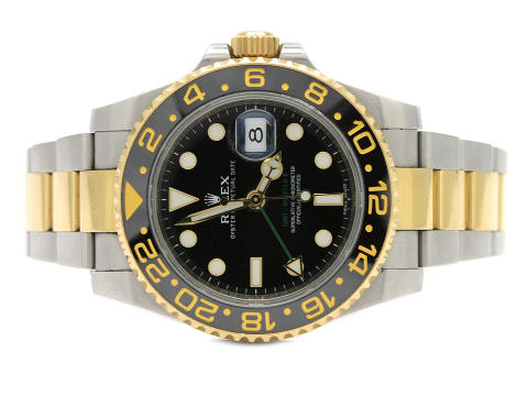 Klockor 9/1, Nr: 46, ROLEX, Oyster Perpetual Date, GMT-Master II