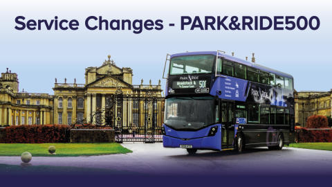 Service Updates - park&ride500