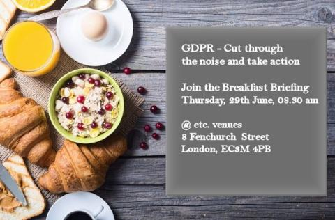 GDPR: What it means for insurers - Cut through the noise and take action