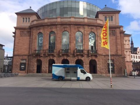 Beratungsmobil der Unabhängigen Patientenberatung kommt am 24. Mai nach Mainz.