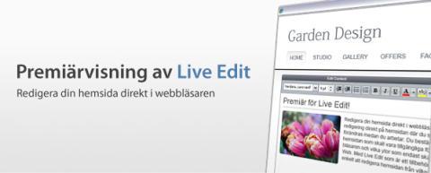 Frukostmöte & Premiär för Live Edit