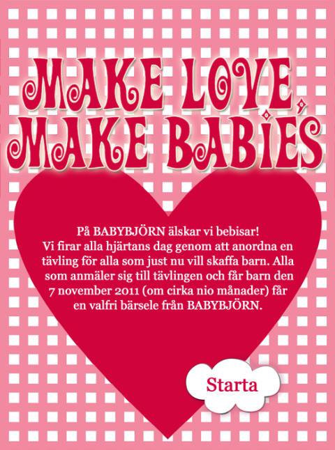 Make love make babies