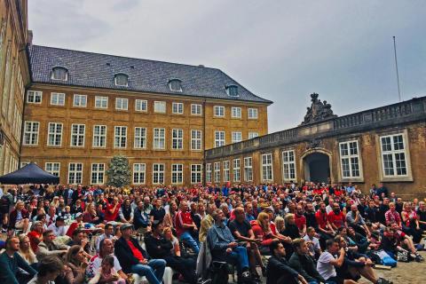 Se landskampen Danmark-Kroatien på Nationalmuseet