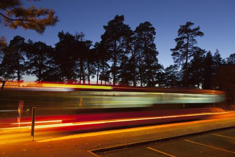 Bättre nattrafik för Vallentunas resenärer