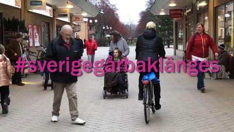 Riksföreningen JAG protesterar - Sverige går baklänges