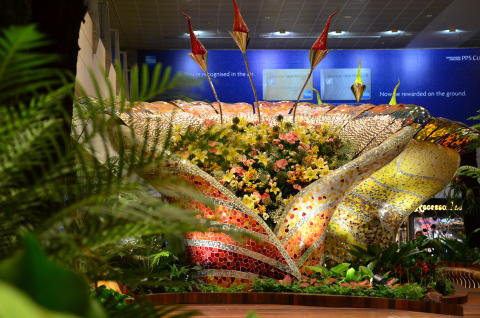 Brand new blooms to delight Changi Airport passengers