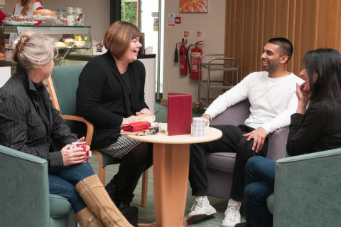 ​​ellenor's Carers Cuppa to launch in Swanley