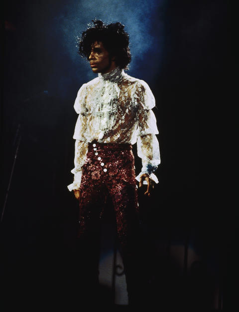 Prince Purple Rain Tour 1985 © The Prince Estate.  Photographer: Nancy Bundt