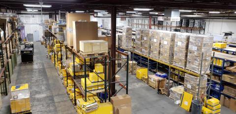 Hi-res image - VETUS MAXWELL - VETUS MAXWELL's new warehouse space at its Maryland headquarters