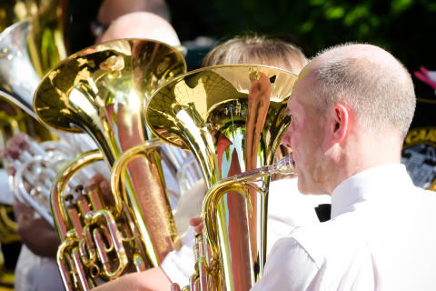 Brass bands will be hitting the high notes in Carrickfergus