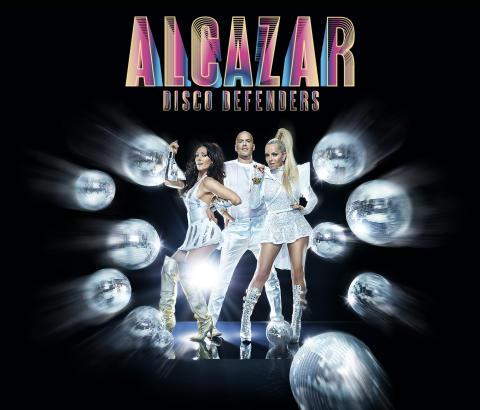 """Alcazar återvänder till Stockholm med årets scenshow """"Disco Defenders"""""""