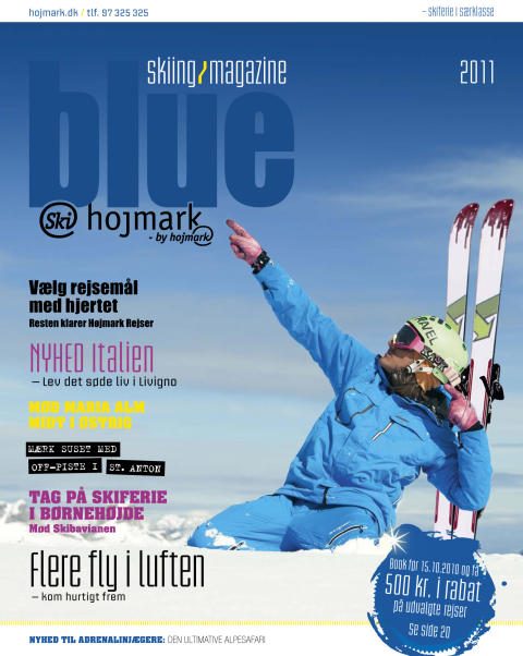 Blue Skiing Magazine