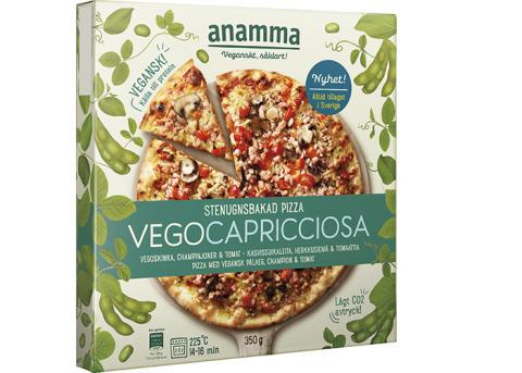 Njut av veganska pizzor från Anamma till fredagsmyset