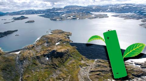 Grønt batteri lagrer strøm tilsvarende 260 000 panelovner på 1000W.