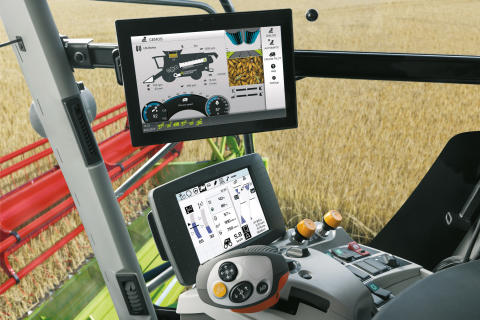 New CEBIS MOBILE with touch display for LEXION 700/600