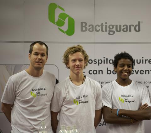 Team Bactiguard hälsar Björn Borg Stiftelsen välkommen till Good to Great