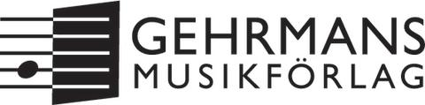 Gehrmans logo, svart, transparent EPS