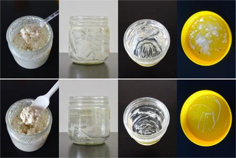 Results of using jam spoon versus normal tablespoon