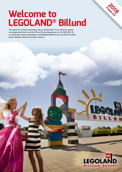 ENGLISH Press Kit LEGOLAND Billund 2018