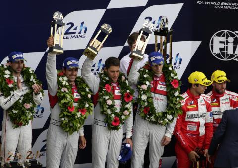 Tredje- og fjerdeplads til Audi i årets Le Mans