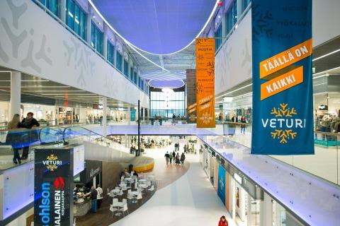 Veturi is the best Finnish Shopping Center