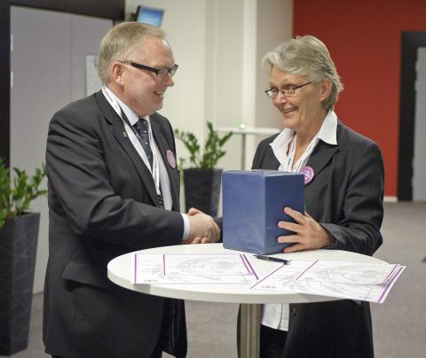 Sten Hermansson och Margareta Wahlström