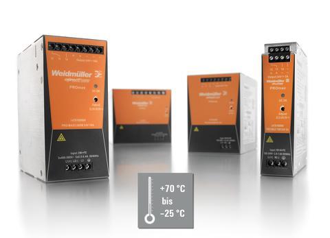 Kraftfulla, switchade nätaggregat i en slimmad design för krävande automationslösningar.