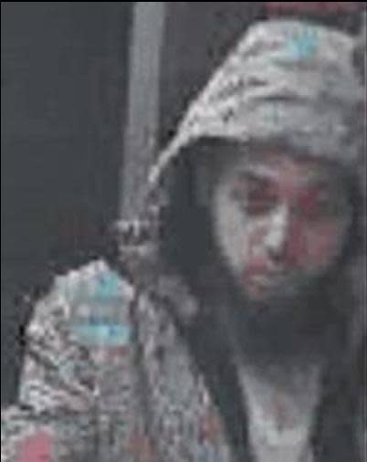 Image of man police wish to speak with - Suspect 2