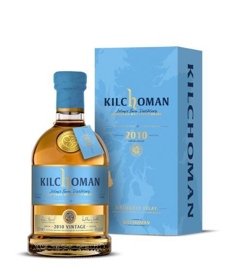 Kilchoman 2010 Vintage - 300 unika flaskor till Sverige