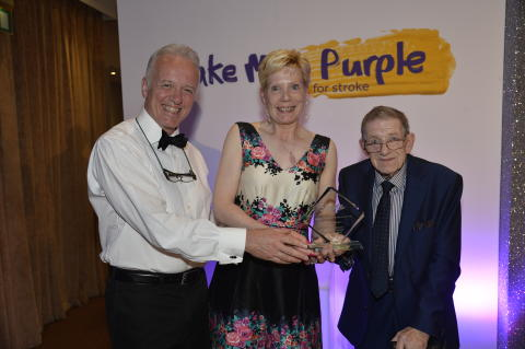 Coleraine stroke survivor honoured at NI stroke awards