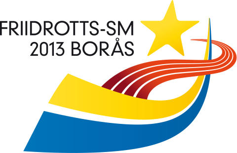 Logotype Friidrotts-SM 2013 Borås