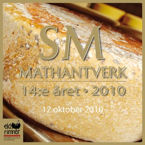 SM i Mathantverk 2010 i Östersund, Jämtland