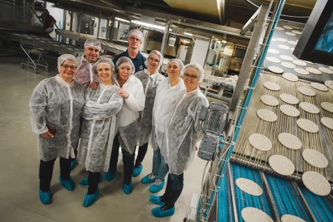 Uppsala kommun besöker Polarbageriet i Bredbyn