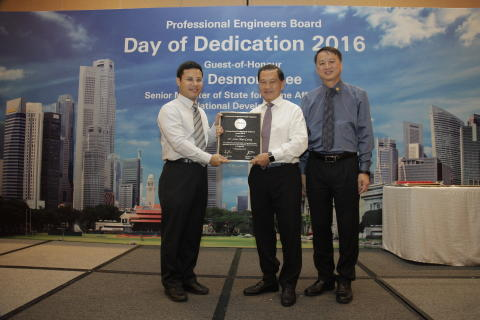 Speech by Surbana Jurong & Changi Airport Group's Chairman, Mr Liew Mun Leong at Professional Engineers Board Day of Dedication