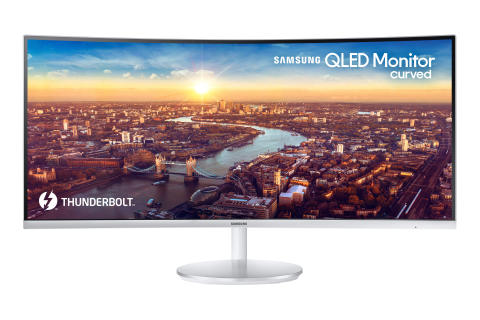 Thunderbolt 3 QLED Curved Monitor