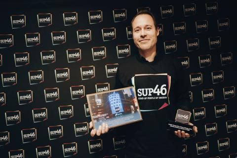 Sebastian Knutsson King.com invald i Swedish Hall of Fame SUP46