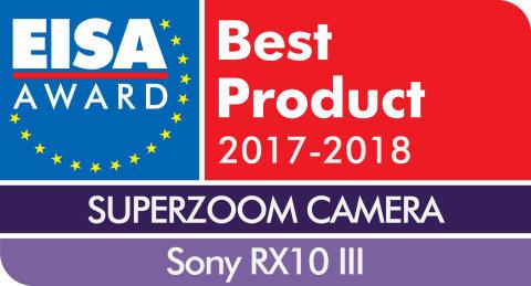 EISA Award Logo Sony RX10 III