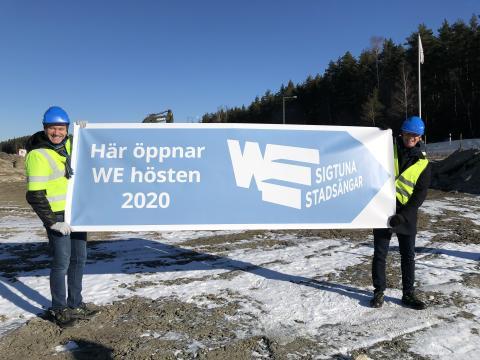 Sportduon Niklas Wikegård och Jonas Eriksson öppnar tränings- och hälsoanläggning i Sigtuna stadsängar