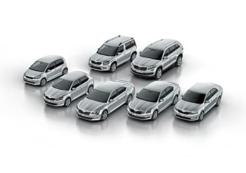 SKODA levererade över 1,1 miljoner bilar 2016