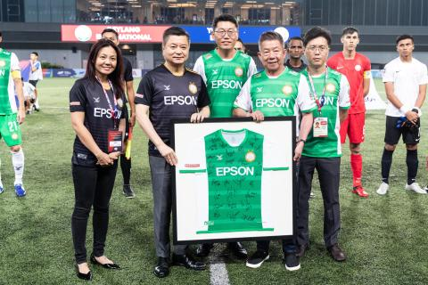 Epson Singapore and Geylang International FC Reinforce Partnership with Sponsorship Renewal for the 5th Year Running