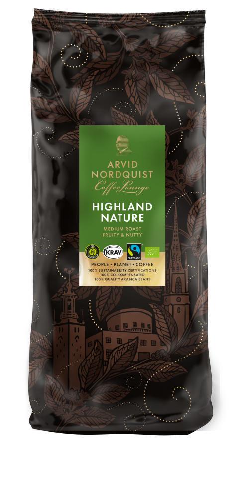 Classic Coffee Lounge - Highland Nature, hela bönor
