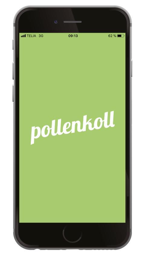 Full koll med Pollenkoll nu även i mobilen