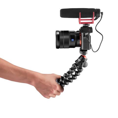 Joby Gorillapod 3K Pro Photo_Tripod_JOBY_GP_3K-PRO-Kit_JB01566-BWW_selfie_mode_Mic_sideview_DSLR