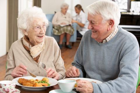 Sodexo växer inom seniormåltider