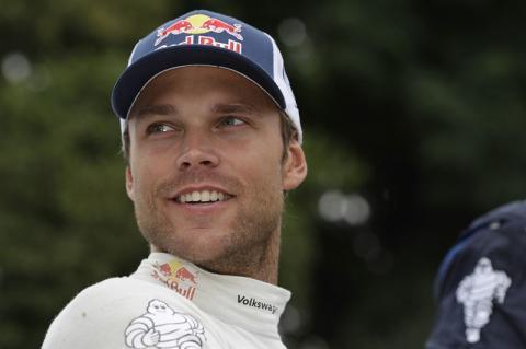 Andreas Mikkelsen porträtt Rally France