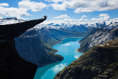 Norway's new 'kinder egg' of hiking trails