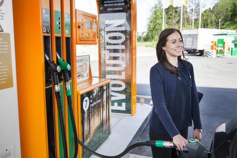 Nytt genombrott av Preem: bensin på skogsavfall