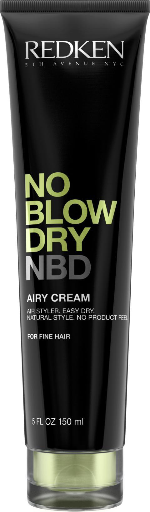 REDKEN- NO BLOW DRY- FINE HAIR, 250 kr