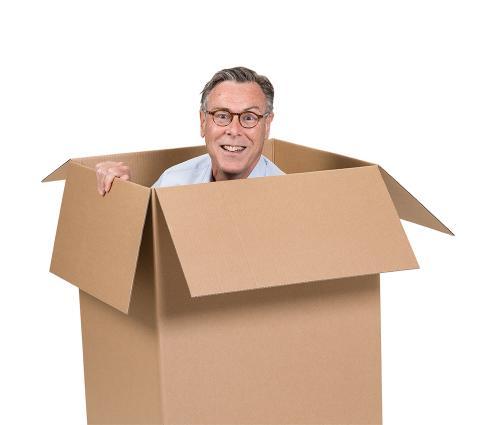 VD håller låda